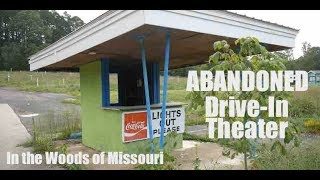 Abandoned Drive In Movie Theater in the Woods of Missouri!