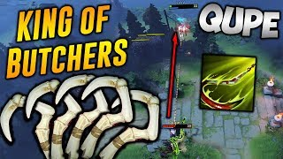 Qupe Pudge [KING of BUTCHERS] Dota 2