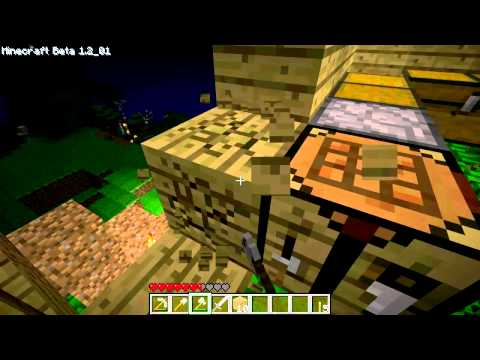 ▶ Minecraft series - Tree House Construction and the Mountain of Doom! e3 (TTB) - TGN.TV Travel Video