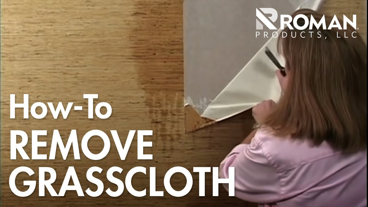 Painting over grasscloth wallpaper - How To Remove Grasscloth Wallpaper