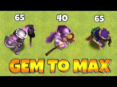 NEW LEVELs!! MAX HERO Lvl 65!!