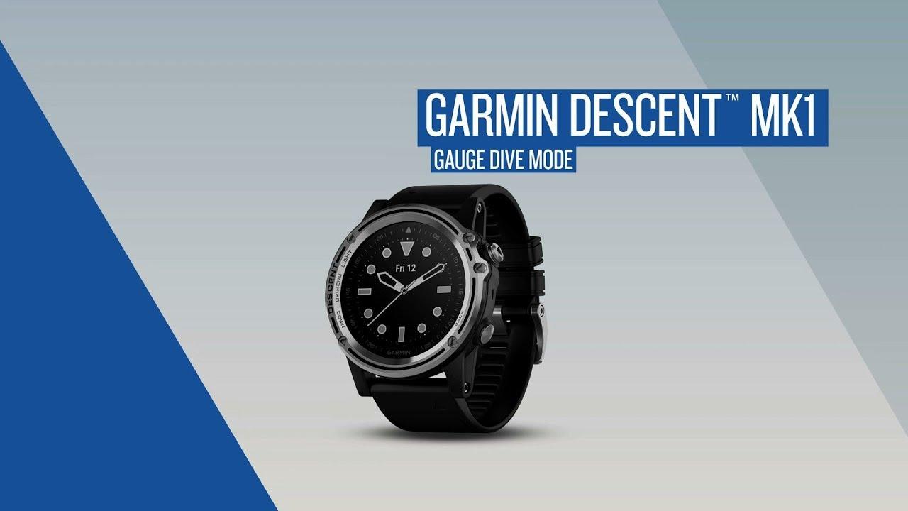 Garmin Descent™: Gauge Dive Mode - Dauer: 110 Sekunden