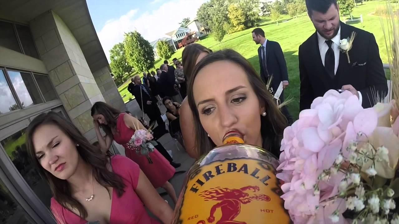 Wedding Fireball Whisky Cam Youtube