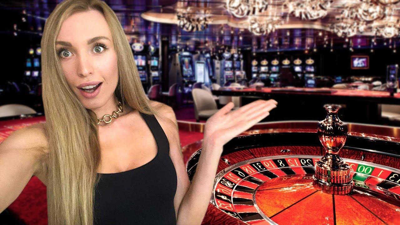 Играть Азартные Игры Казино Вулкан | Блондинка Крутит Рулетку | Джекпот с Юлей