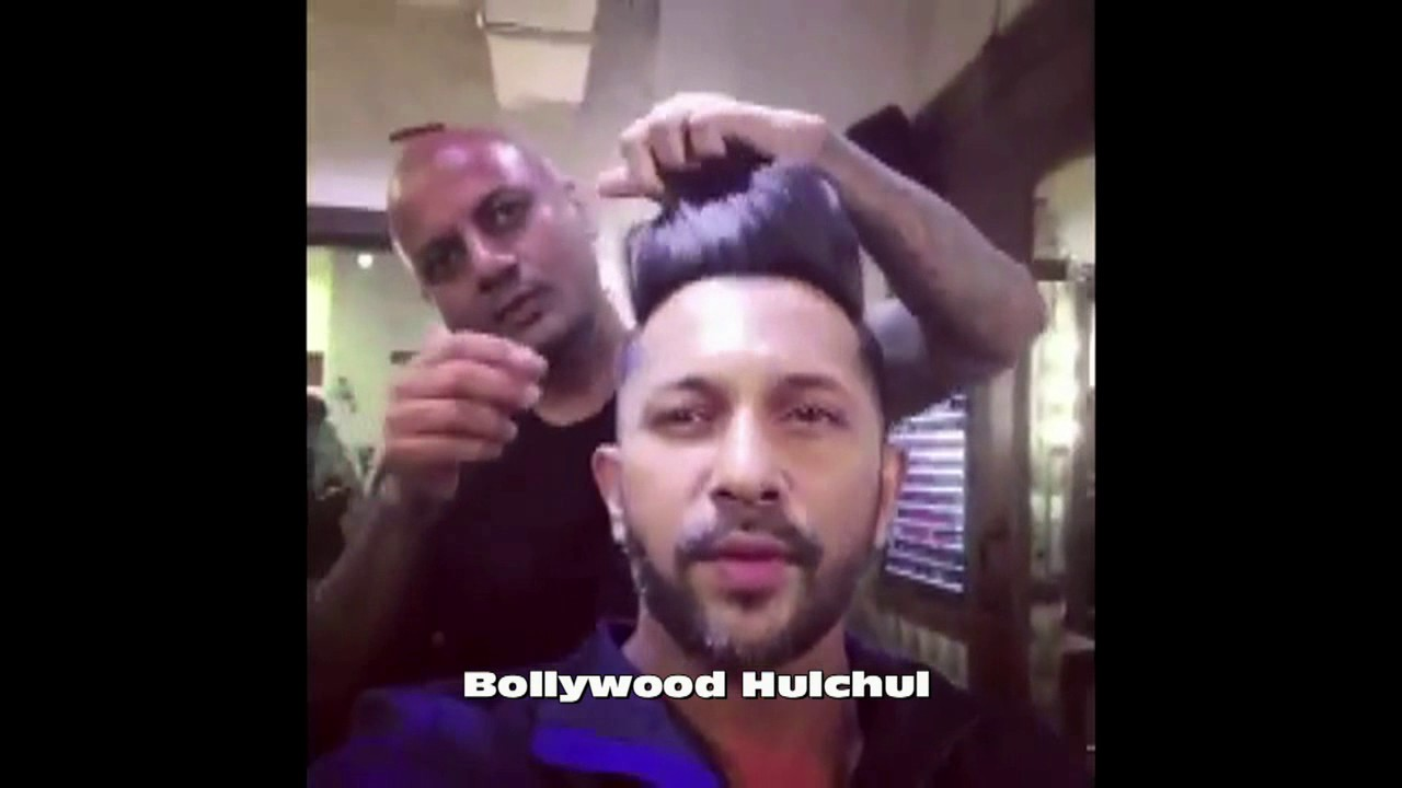 See How Aalim Hakim travels To His Salon And Gives Hair Cut To Terrence  Lewis