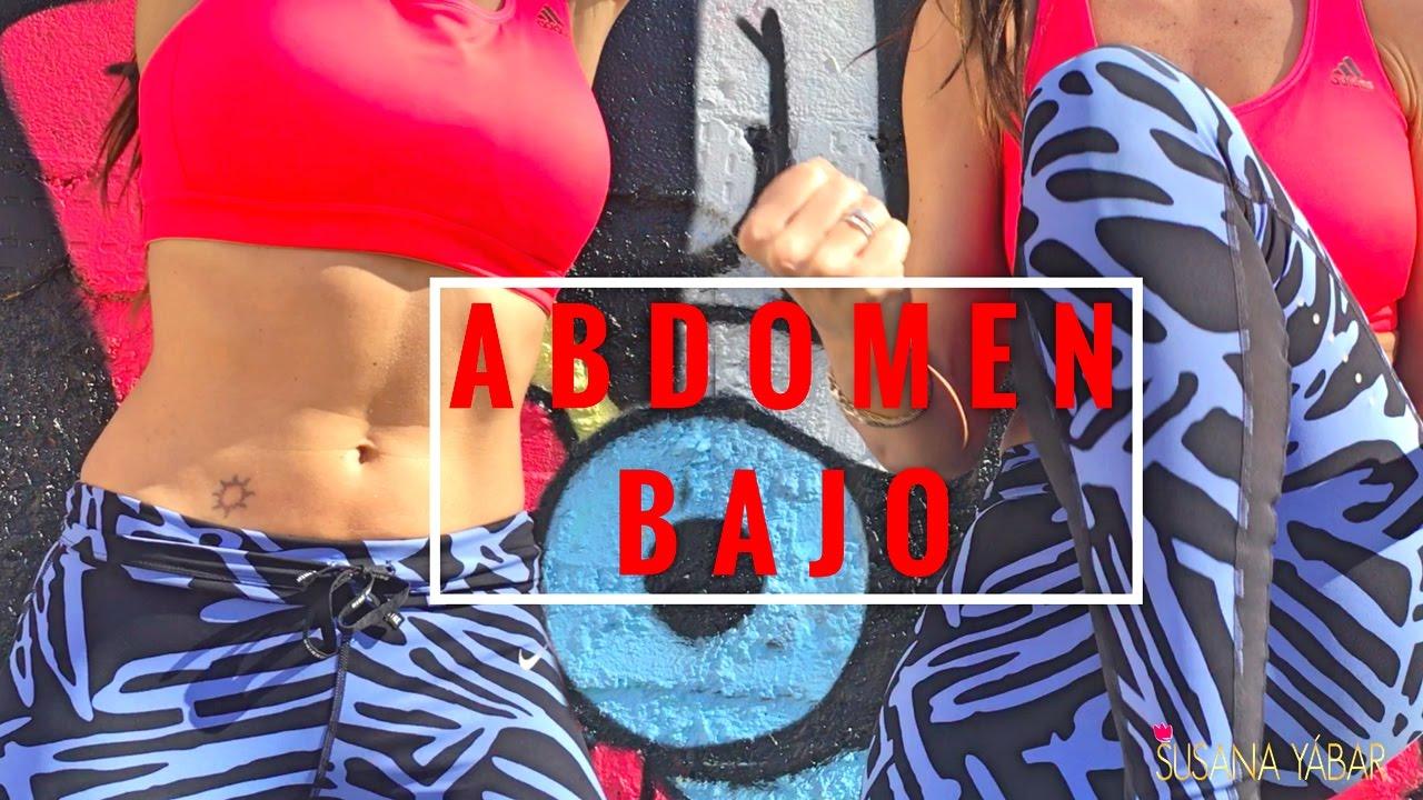 como reducir el abdomen bajo rapido
