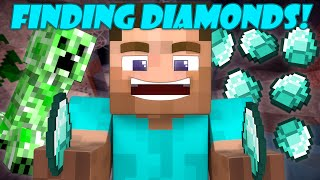 Finding Diamonds - Minecraft Short