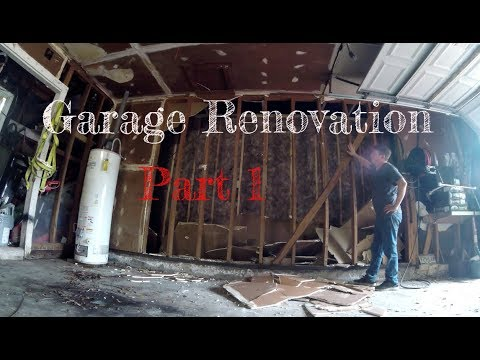 Garage Renovation pt. 1