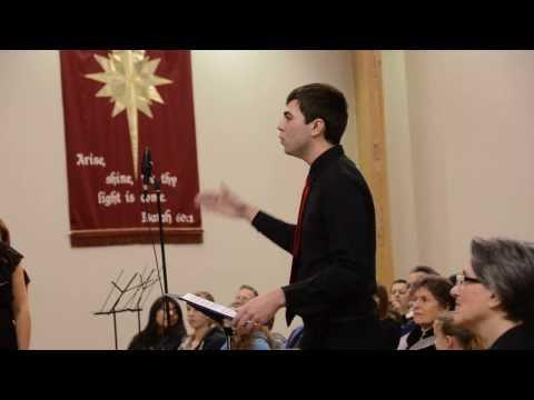Hans Fritz  Conducting Skagit Adventist Academy's Choir 12/13/2013