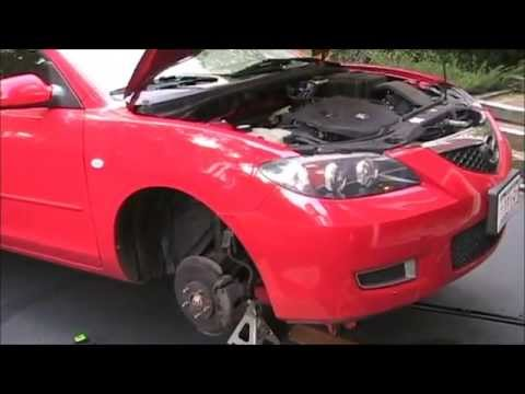 Mazda 3 Air Conditioning troubleshooting and clutch coil replacement