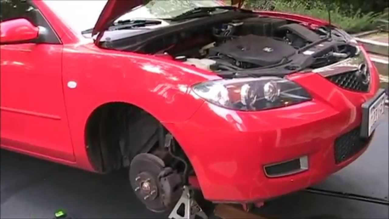 mazda 3 air conditioning troubleshooting and clutch coil replacement [ 1280 x 720 Pixel ]