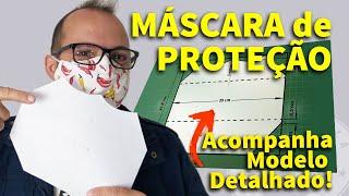 Desenhando Molde de Mascara de Proteção – Modelo 3D