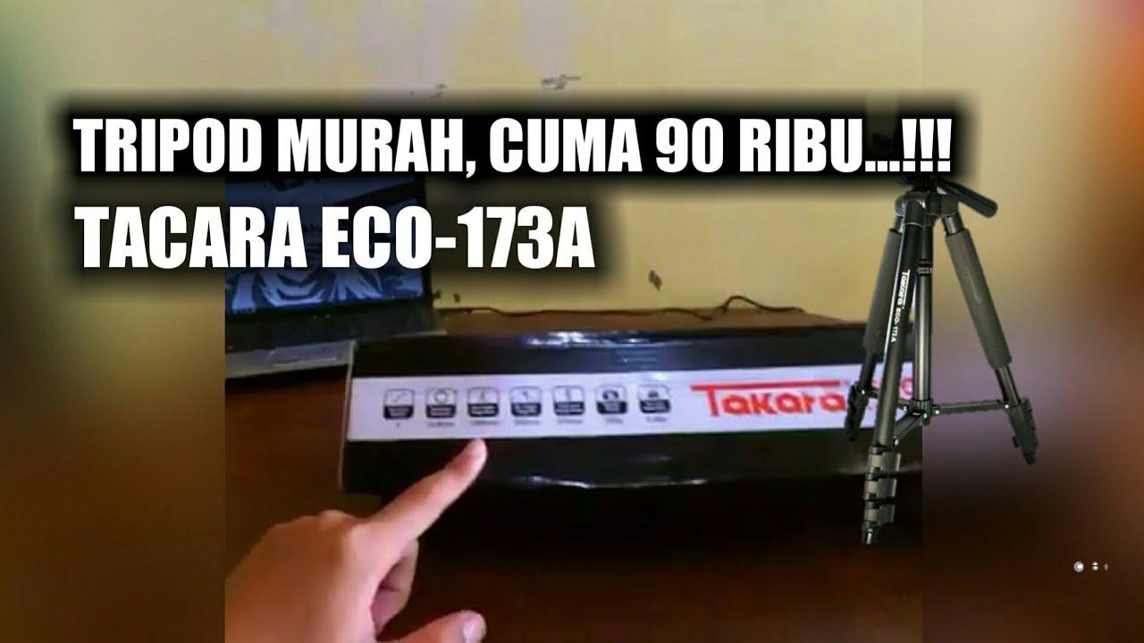 Unboxing Tripod Takara Eco 173 A I Murah Cuma 90 Ribu Cocok 173a Buat Pemula