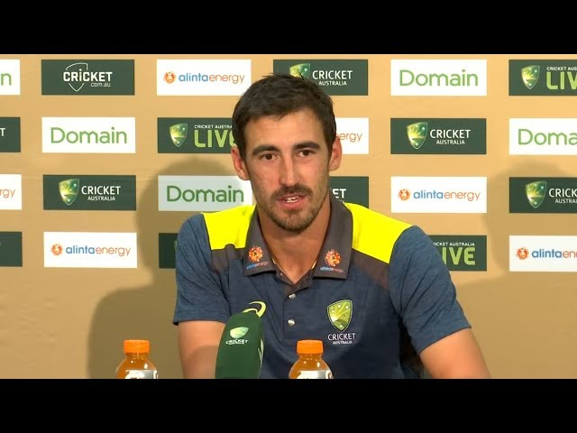 Pujara's run out was a good way to finish the day - Mitchell Starc