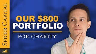 $800 Investment Portfolio for Charity 📊 5 Initial Stocks
