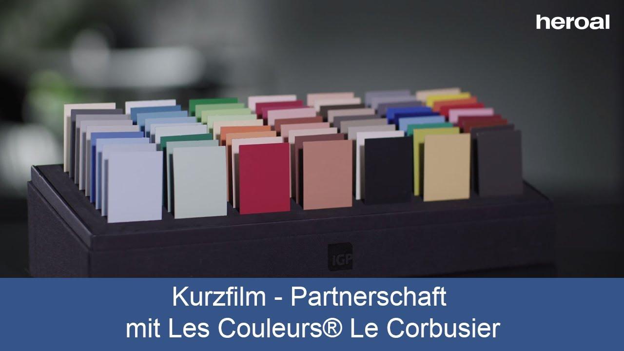 Le Corbusier Les 5 Points short film - partnership with les couleurs® le corbusier | experience heroal