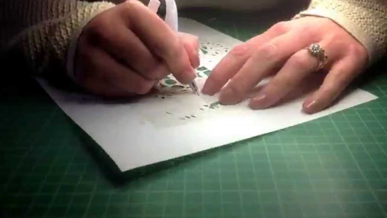 Papercraft Time Lapse Paper Cutting