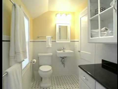 Renovating A Small Bathroom how to design & remodel a small bathroom - 75 year old home - youtube