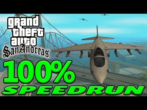 Grand Theft Auto: San Andreas 100% Speedrun - September 2018 thumbnail