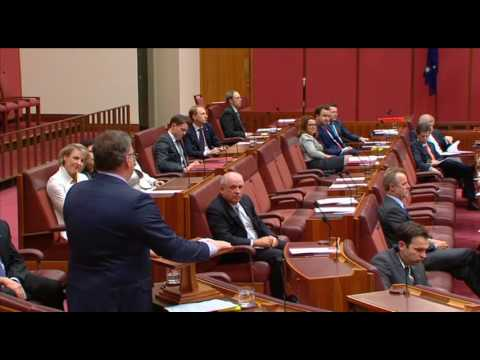 Senator Rod Culleton's emotional Inaugural Senate Speech, Standing Ovation