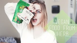 I Got Some Vegan Food...🙈 // iHerb | chanelegance