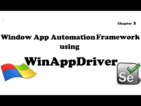 Window Desktop App Automation Using WinAppDriver(via Selenium) Chapter 3