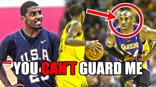 The Time Kyrie Irving TRASH TALKED Kobe Bryant And Got OWNED thumbnail
