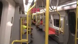 MBTA Orange Line New Trains 1400 Series Ride