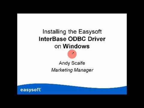 EASYSOFT ODBC INTERBASE WINDOWS DRIVER