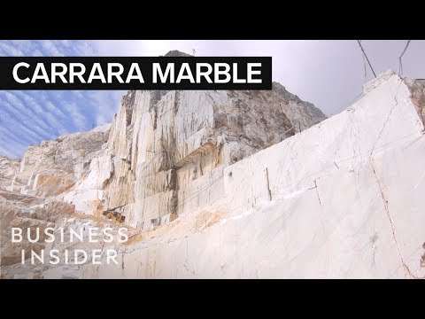 Inside Italy&39;s $1 Billion Marble Mountains