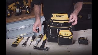 Обзор на сумку поясную с одним передним карманом DeWalt DWST1-75652