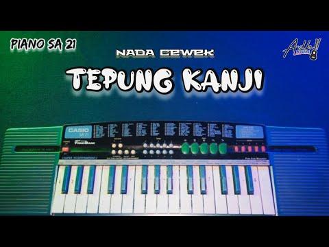 Tepung Kanji - Nada Cewek Cover Piano SA 21