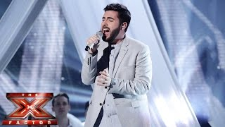 Andrea Faustini sings Mariah Carey's O Holy Night | Live Semi-Final | The X Factor UK 2014