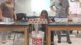 100 Popsicle Stick Bridge