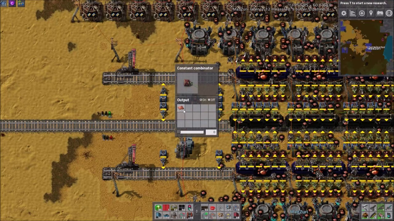 Factorio Workshop - Building A Better Factory :: Zuri's Smelter Design/Setup