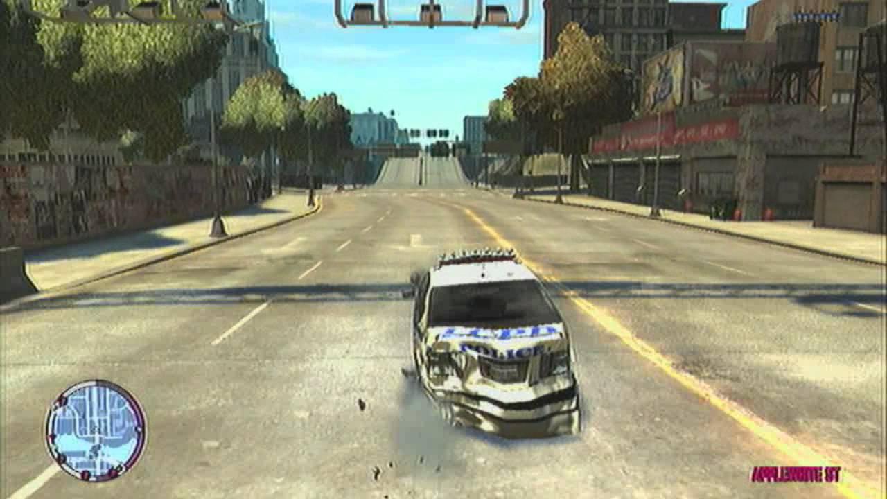 Gta Iv Car Crashes