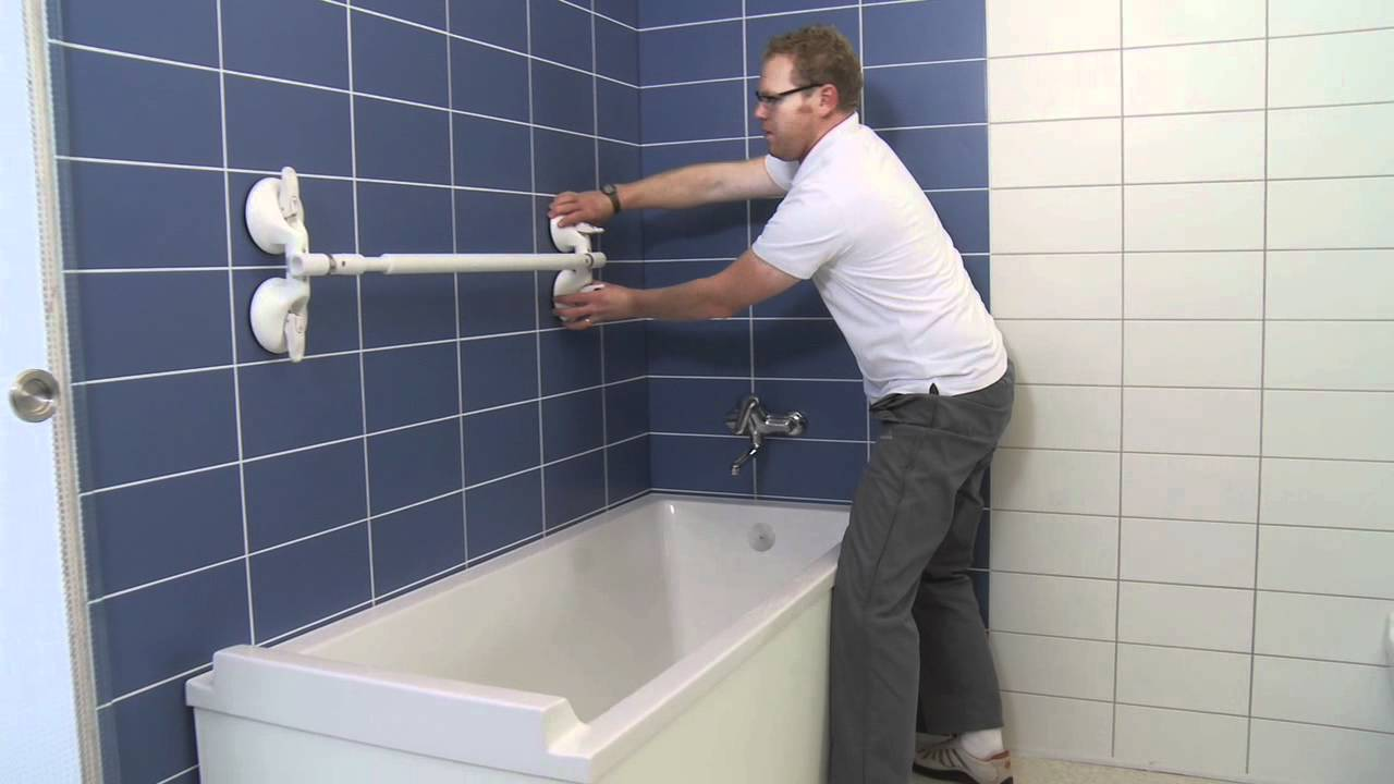 Mobeli portable grab bars - YouTube