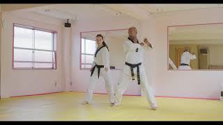 Hoshinsul #1 Same-side wrist escape (For Quiet Flame Taekwondo Yellow Belt)