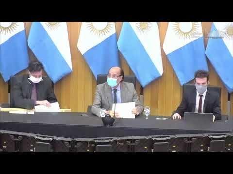 Tercera Sesión Virtual de la Legislatura de Córdoba 27-05-2020