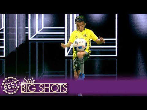 Little Big Shots | Rayane's Shows Off His Football Footwork