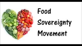 Jonathan Ponce Food Sovereignty Movement