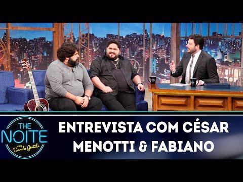 Entrevista com César Menotti & Fabiano  The Noite 170419