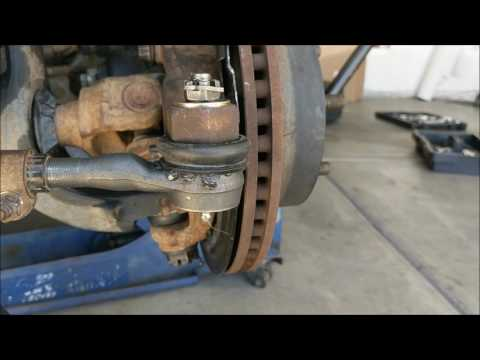 How To Replace Tie Rod Ends On A jeep Wrangler