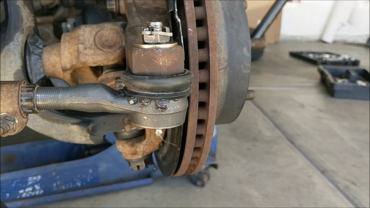 medium resolution of how to replace tie rod ends on a jeep wrangler