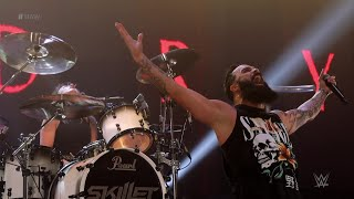 "See Exclusive Live Footage of RAW's Theme Song ""Legendary"" by Skillet"
