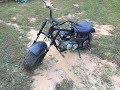 baja mini bike part 2 engine swap and torque converter