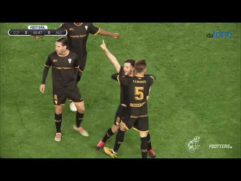 Un gran Algeciras CF consigue su primera victoria a domicilio frente al Córdoba