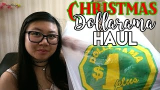 Christmas Dollarama & Disney Haul