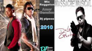 Zion y lennox ft de la gheto - amor genuino ( Remix Dj pipeee )
