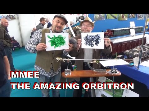 DuB-EnG: Modern Gravity Harmonograph at the Midlands Model Engineering Exhibition 2018 The Orbitron